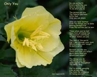 Only You Uplifting Poem