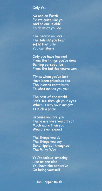 Only You Poem